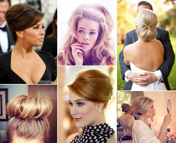 Mad Men Inspired - Wedding hair