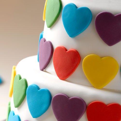 Liefdevolle taart