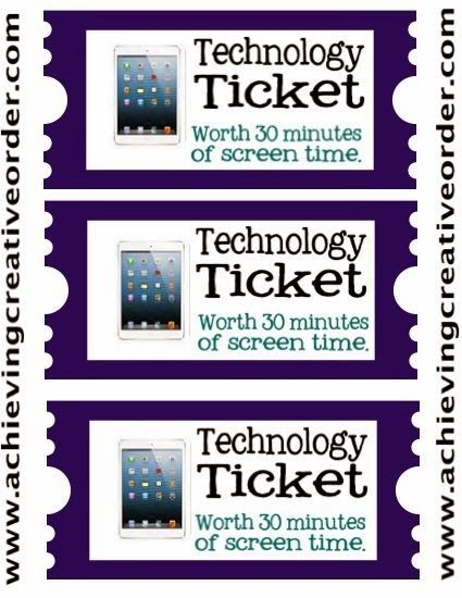 Achieving Creative Order: Technology Tickets