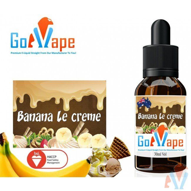 Banana le Creme E liquid Concentrate