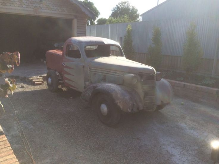 38 chev sedan converted to pickup using 39 ute roof giving more interior space than pickups of that era A lot of body work has been done including floor frame ..., 1171067258