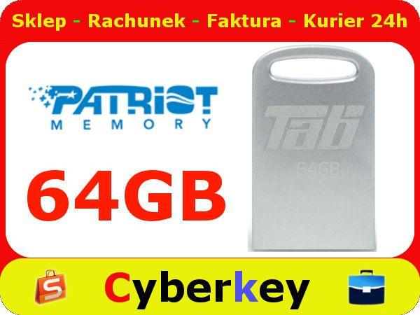 PENDRIVE 64 GB USB 3.0 METAL PC MAC PATRIOT