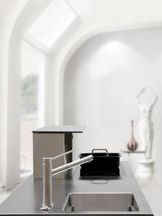 Interiores En Blanco | Edelstahl Arbeitsplatten Sind Pflegeleicht Und  Unzerstörbar. © AMK .