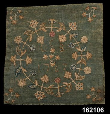 DigitaltMuseum - Stolsdyna, Småland, 1700-tal