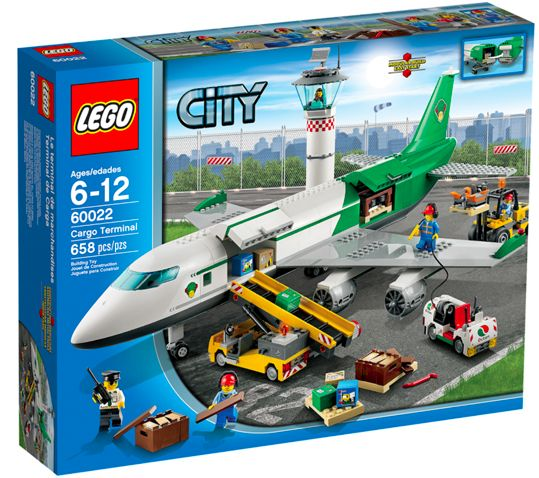 LEGO City Airport 60022 Cargo Terminal from 2013, NEW and UNOPENED!