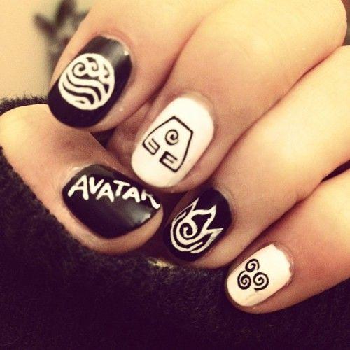 Best 25+ Anime Nails Ideas On Pinterest