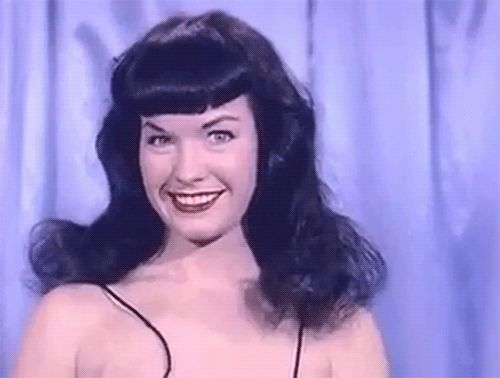 Funny Retro Gifs Just Cool Stuff Bettie Page Google