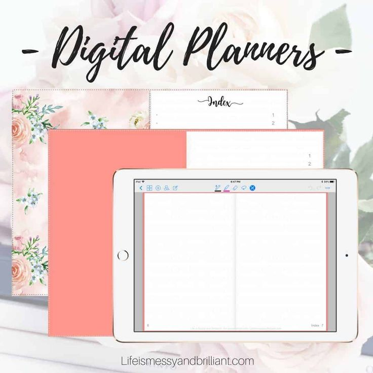 How to Make a Digital Planner with Hyperlinks Planner