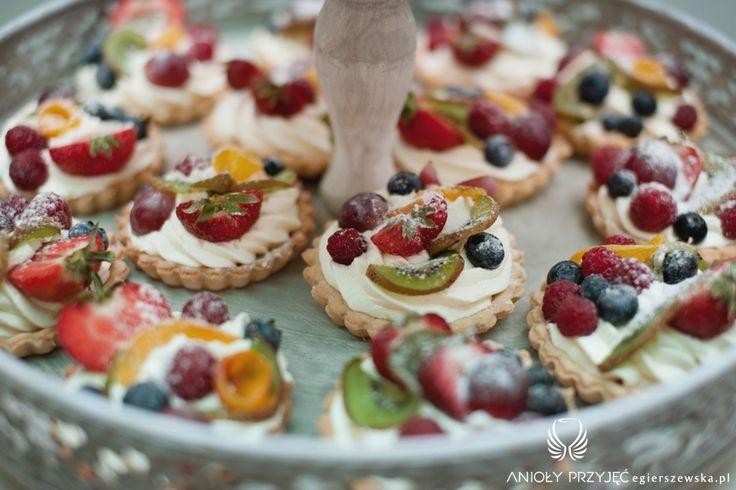 12. Cherry Wedding,Sweet table / Czereśniowe wesele,Słodki stół,Anioły Przyjęć