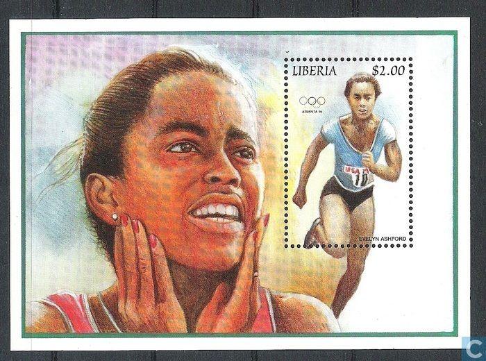 Postage Stamps - Liberia - Olympic Games - Atlanta