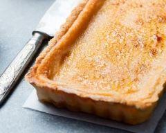 Flan pâtissier façon crème brûlée