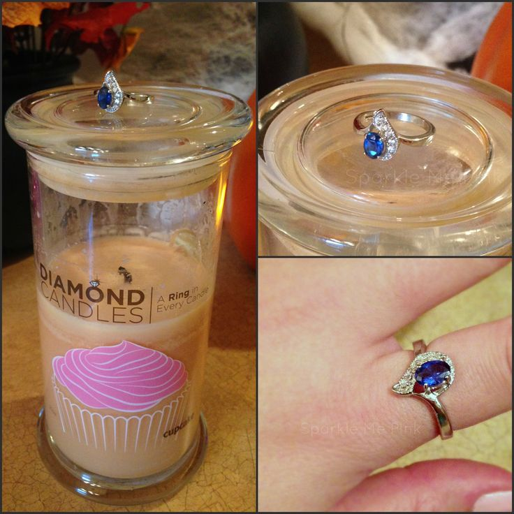 Diamond Candle Ring Reveal !!