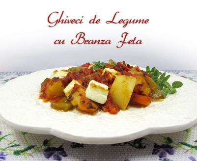 Reteta de ghiveci de legume cu branza feta (briam) este o reteta din bucataria greceasca. Este o reteta simpla, usor de preparat si - deoarece este gatita la cuptor - legumele nu se zdrobesc, isi pastreaza forma.
