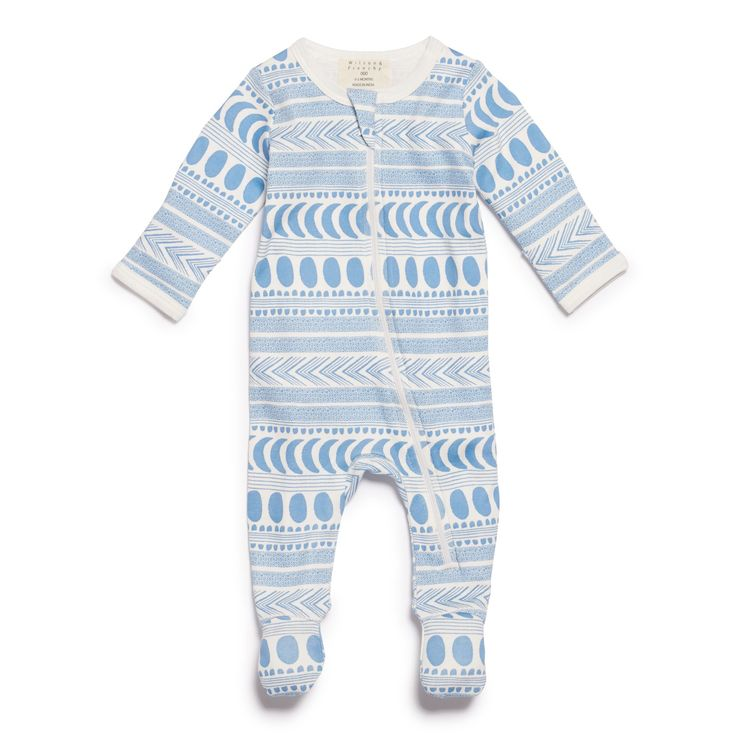 Moon aztec long sleeve zipsuit, with front zip opening making it the perfect all in one for newborn baby's hospital outfit.   #wilsonandfrenchy #babystyle #newborn #hospitalbag #allinone #babyboy #baby #fashion #unisex #babylove #perfectbabies  #unisexbabyclothes  #newmum #babygift #babyshower #australiandesign #shopbaby #mumsunite #babylove #magicofchildhood #little