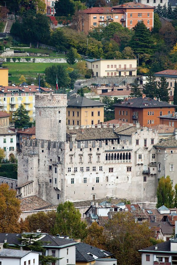 Trento Castle, Italy. | by Andre Goncalves