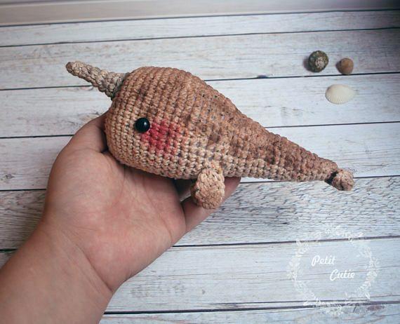 crochet whale ballena narval acción de gracias Esteban