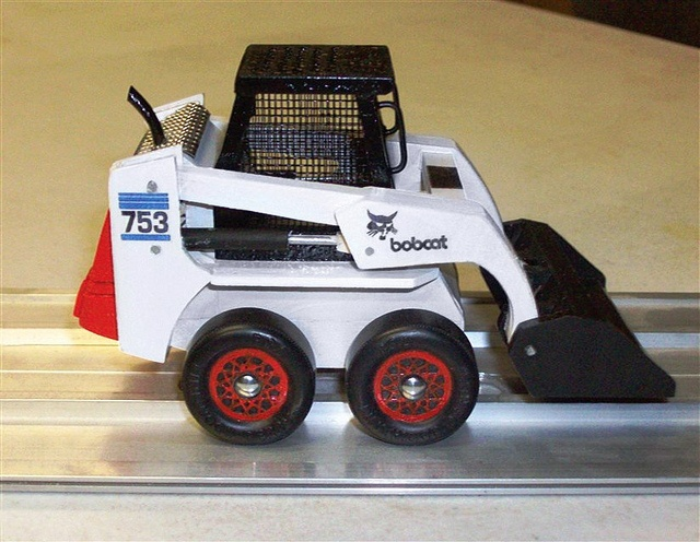 Pinewood Derby Bobcat 753 | Flickr - Photo Sharing!: Derby Bobcats, Bobcats 753, Derby Cars Idea, Bobcats Pinewood, Photo Shared, Pinewood Derby, Boys Idea, Derby Idea, Awesome Stuff