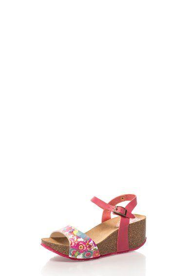Caramelo Színes Mintás Telitalpú Szandál a Desigual márkától és további hasonló termékek a Fashion Days oldalán