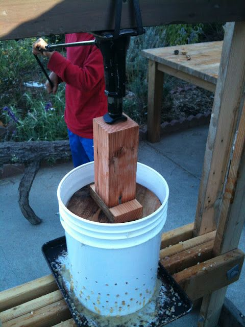 Soul Flower Farm: DIY Cider Press