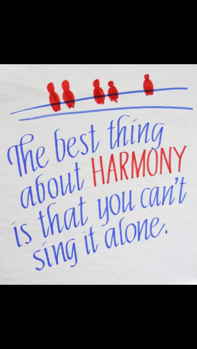 Learn to sing harmony to any song before I die