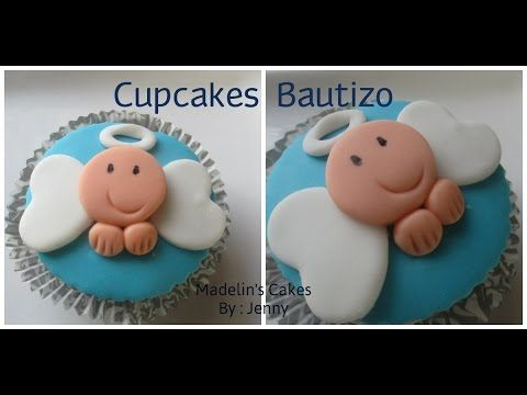 Cupcakes Para Bautizo Muy Faciles De Hacer
