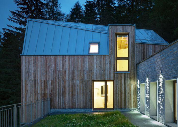 25 best ideas about zinc roof on pinterest modern barn for Modern zinc houses