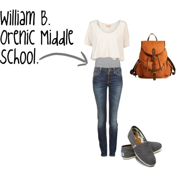 William B. Orenic Middle School outfit.