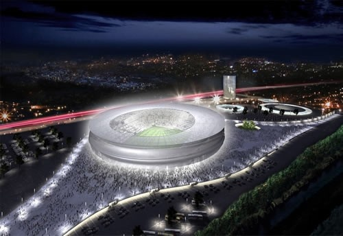 Great and beauty stadium have been build in Gdansk