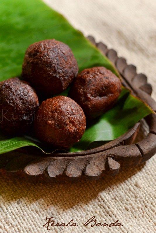 Kerala Bonda | Fried whole wheat and banana cake | kurryleaves
