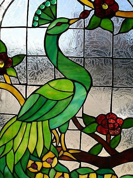 Stained Glass Pictures of Birds | bird stained glass 9 10 from 8 votes bird stained glass 7 10 from 96 ...