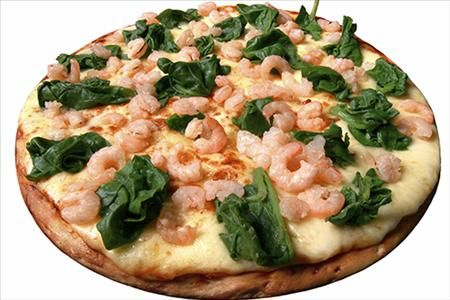 ... shrimp, these mini pizzas are scrumptious and definitely heart-healthy