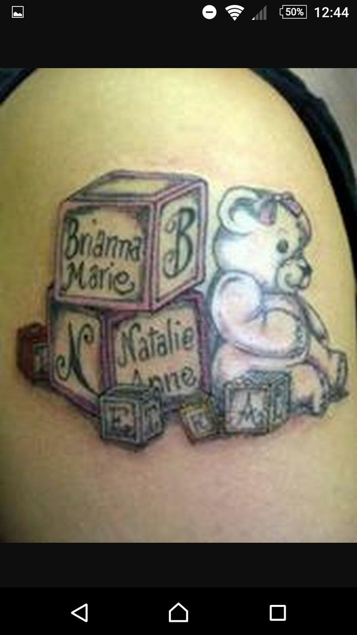 20 Baby Name Tattoos For Moms Ideas And Designs