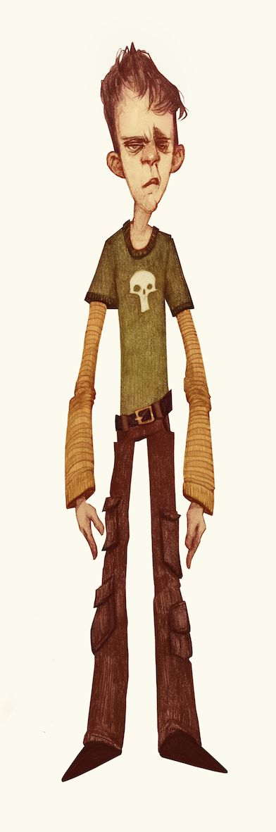 Charlie And The Chocolate Factory (Character Designs) by Audrey Benjaminsen, via Behance