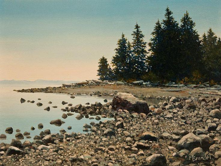 Oyster Beach, by Merv Brandel
