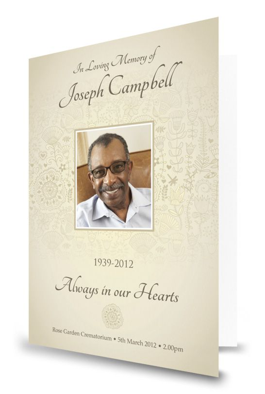 9 best Memorial Announcements images on Pinterest Card ideas - death announcement cards free