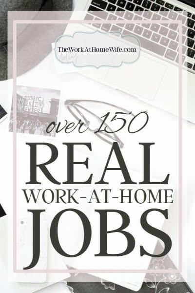 If You Are In The Market For A Work From Home Job Here Are Several