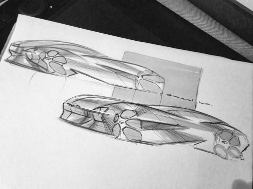"fastbikesandtoomuchcoffee: "" Midnight cars. #car #carsketch#cardesign#doodle #sketchbook #transportationdesign #transportation #design #drawing #photo #photography #monochrome #blackandwhite #sportcar #supercar #exotic #japanese #jdm #sport #marker..."