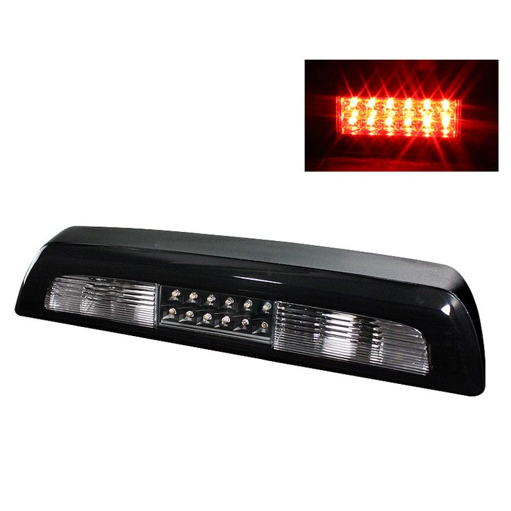 Toyota Tundra 2007-2010 Black Housing Led 3rd Brake Light