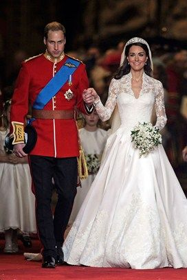 Royal Wedding - Alexander MqQueen dress