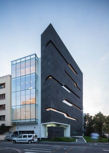 Monolit Office Building / Igloo Architecture - Bucharest, Romania