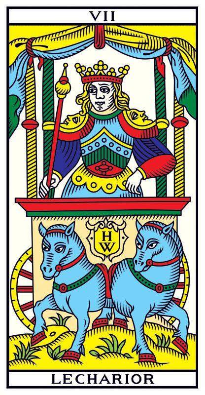 VII LE CHARIOR • Tarot of Marseilles Millennium Edition