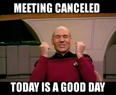 Meeting Canceled