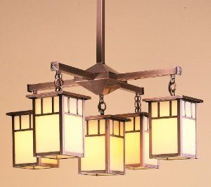Mission Style Fixture Craftsman ChandeliersDining Room