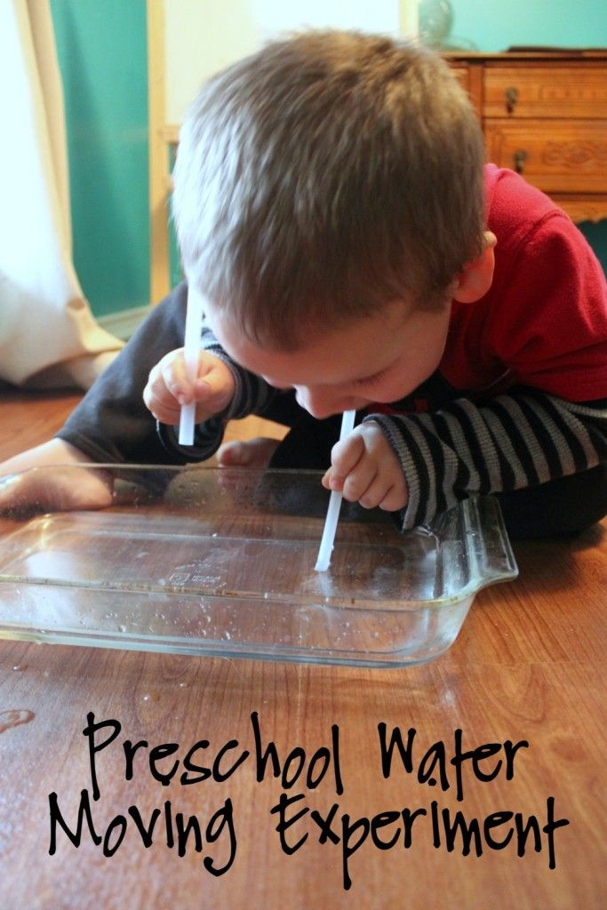 A Preschool Water Experiment to Teach about Moses and the Red Sea Using the…