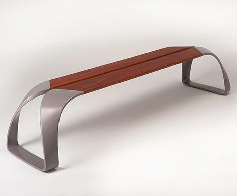 Amazing Urban Bench Design by BMW Designworks   Captivatist