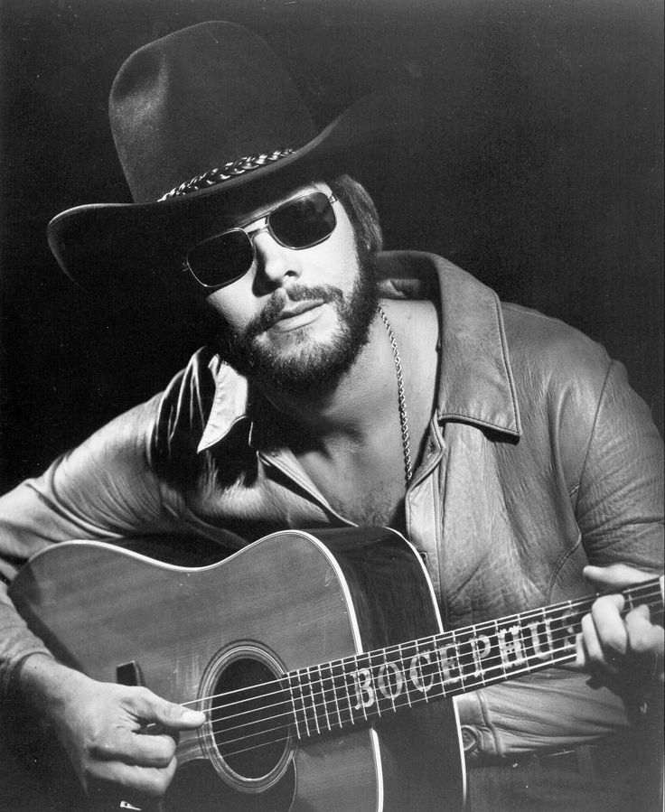 Hank Jr in 1976