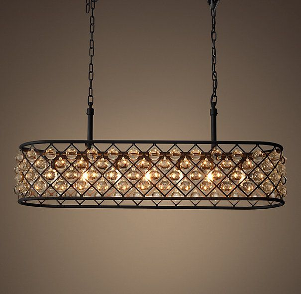 Rectangle Chandeliers: Spencer 51