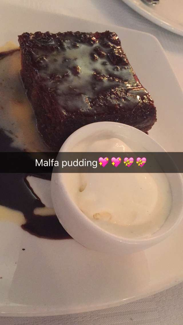 Gorgeous Malfa Pudding, a South African dessert