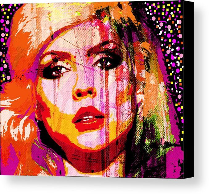 DEBBIE HARRY BLONDIE MUSIC WALL ART CANVAS PRINT PICTURE READY TO HANG