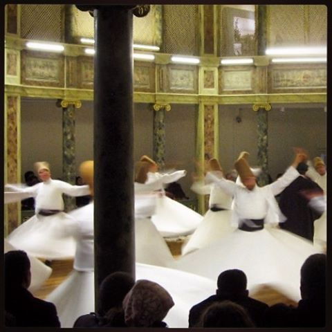 Nearby our www.istanbulplace.com holiday apartments is the Galata Mevlevihanesi where you can experience an authentic Sufi Whirling Dervish ceremony #nottobemissed